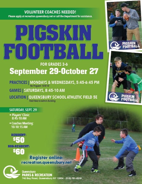 Fall Pigskin Football