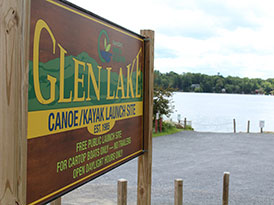 GLEN LAKE CANOE LAUNCH