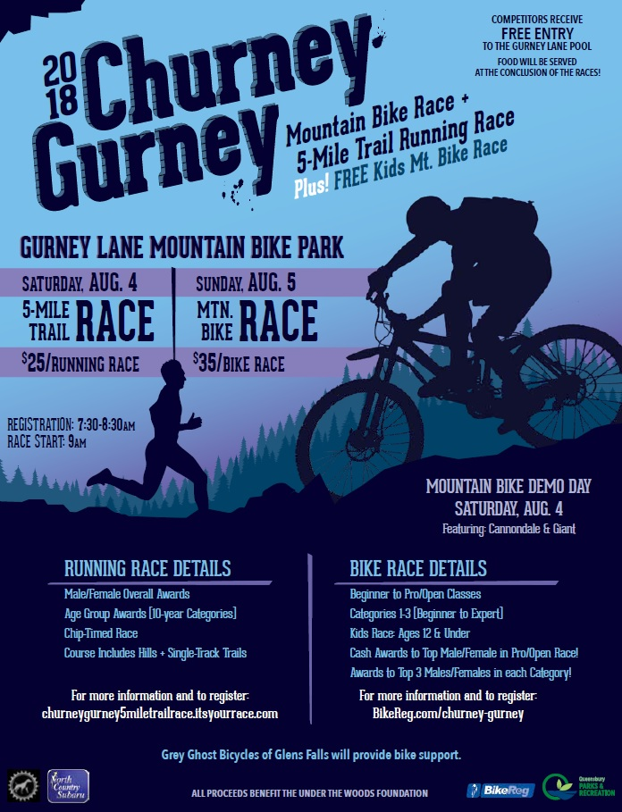 Churney Gurney Mountain Bike Race
