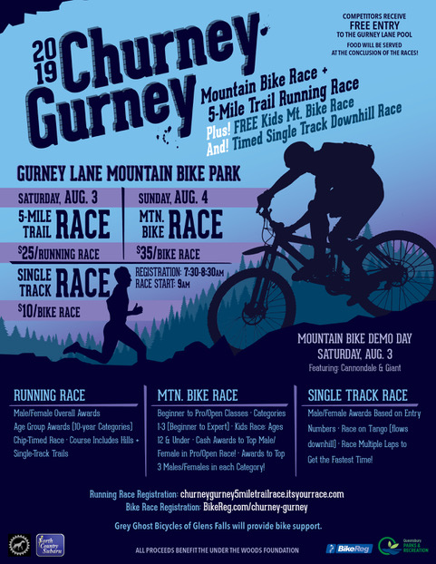 The sixth annual Churney Gurney is the weekend of August 3-4.