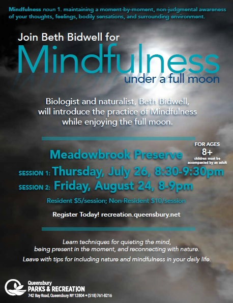 Mindfullness Under a Full Moon