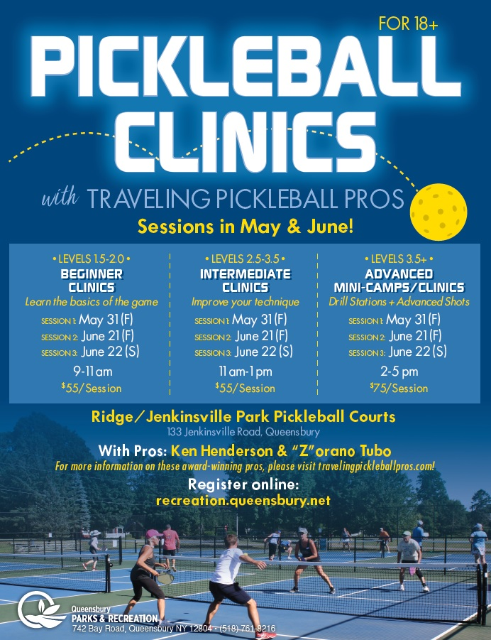 Pickleball Clinics with Traveling Pros